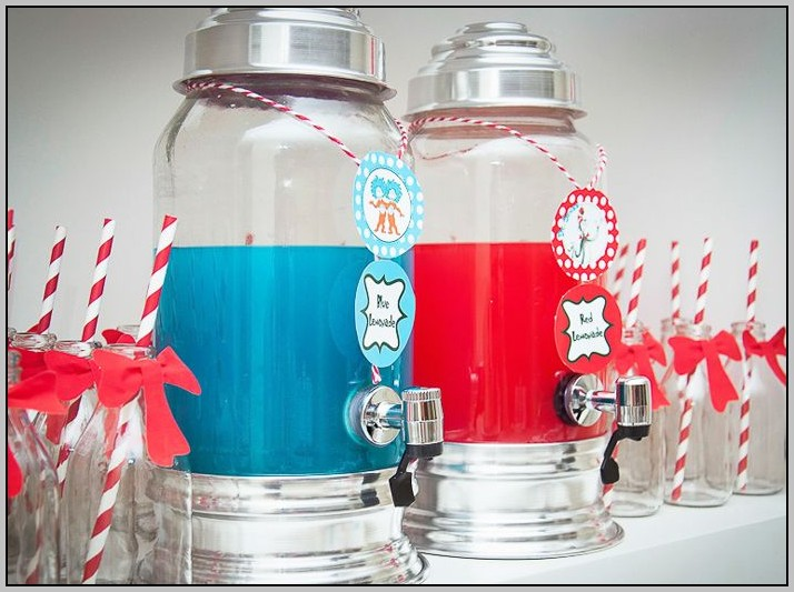 Cat And The Hat Baby Shower Decorations