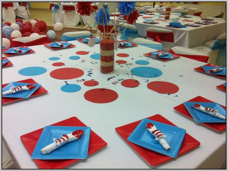 Cat And The Hat Baby Shower Ideas