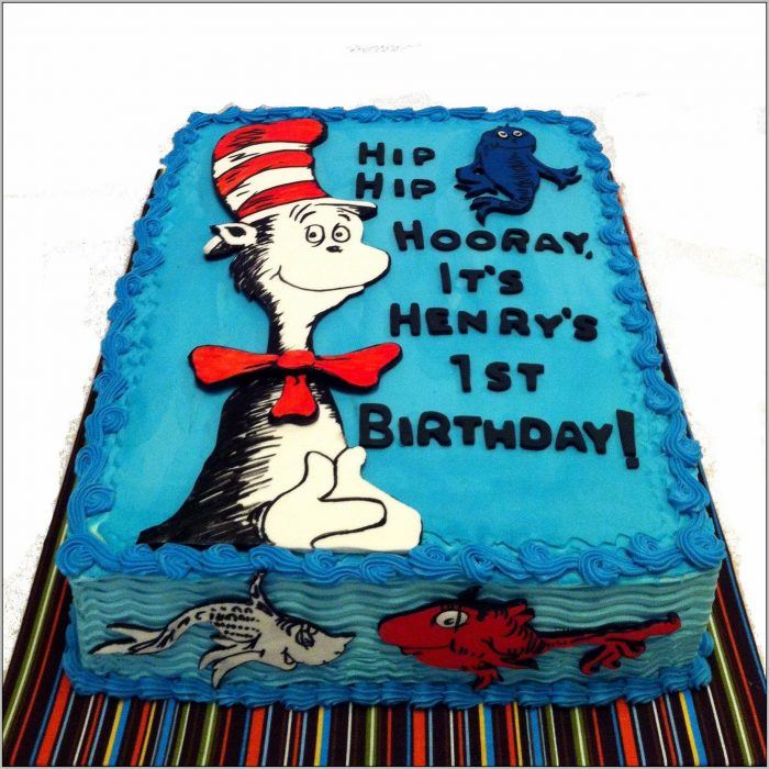Cat And The Hat Birthday
