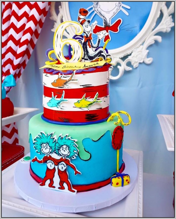 Cat And The Hat Birthday Decorations