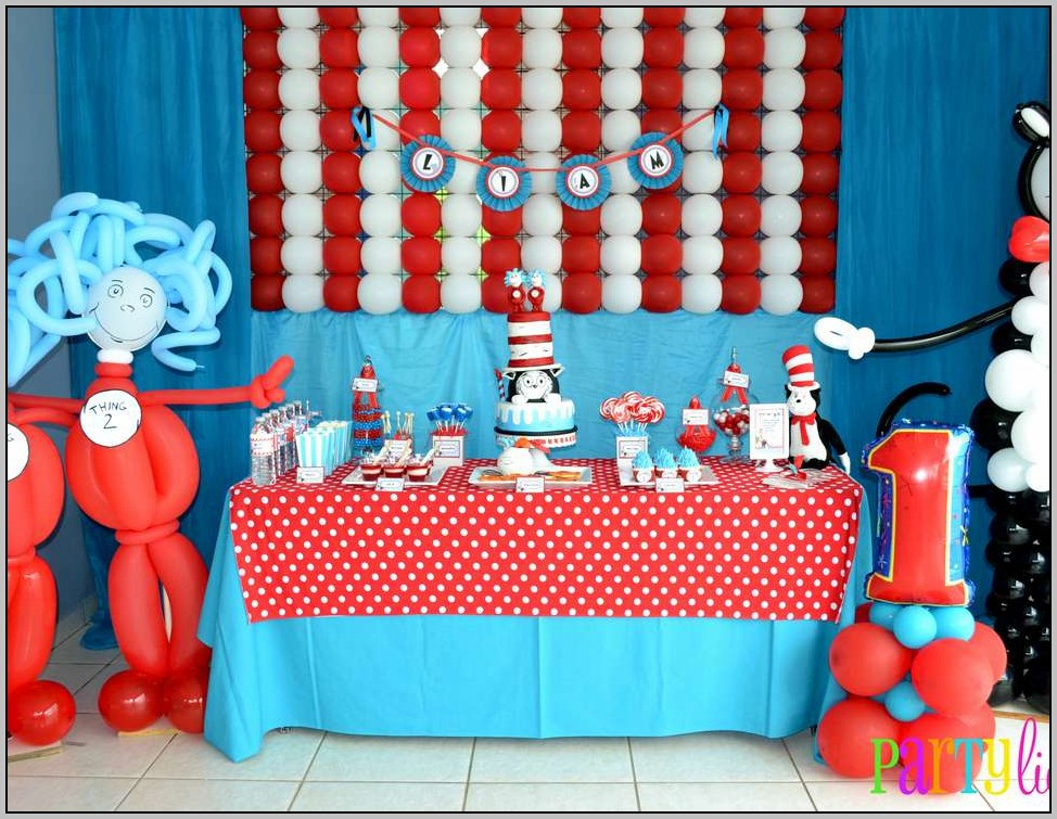 Cat And The Hat Birthday Ideas