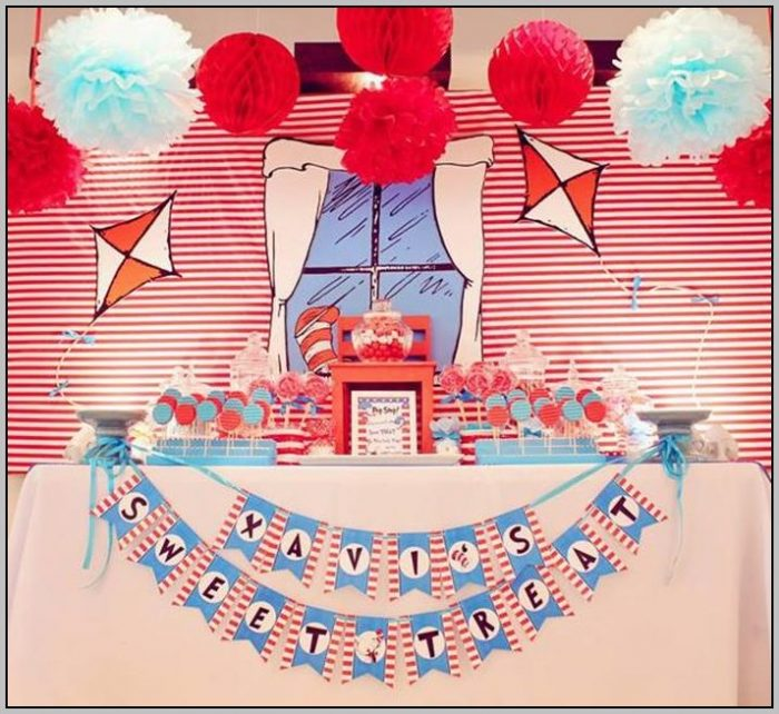 Cat And The Hat Birthday Party Supplies