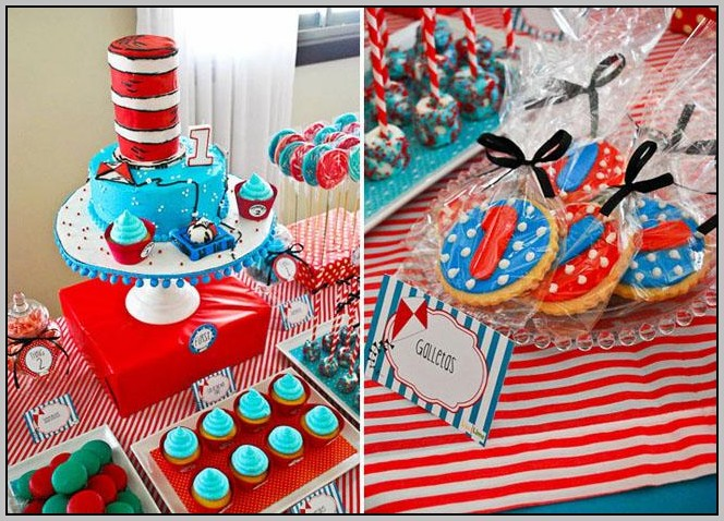 Cat And The Hat First Birthday