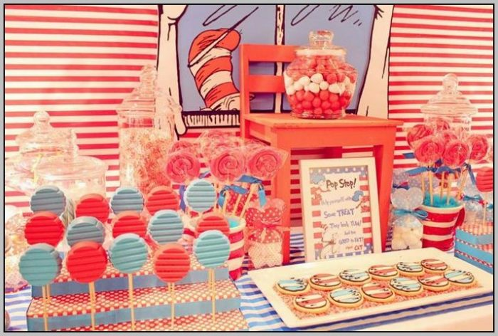 Cat And The Hat Party Decorations