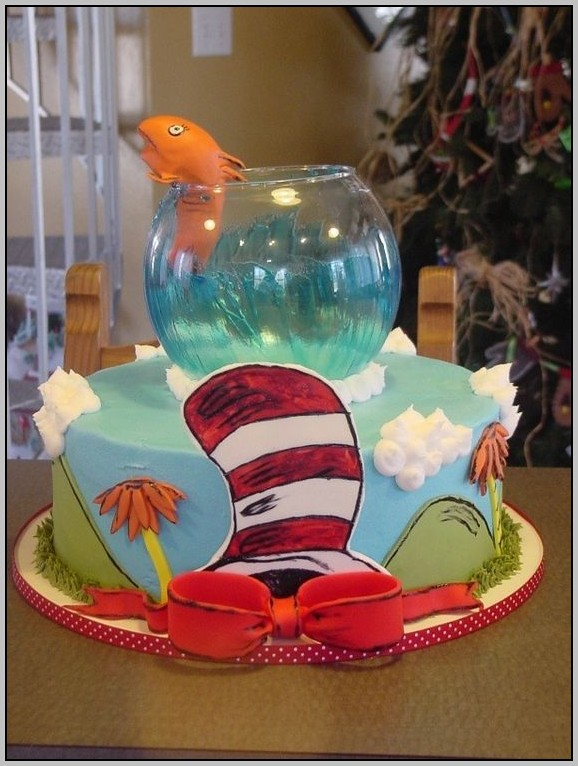 Cat In The Hat Baby Shower Decorations
