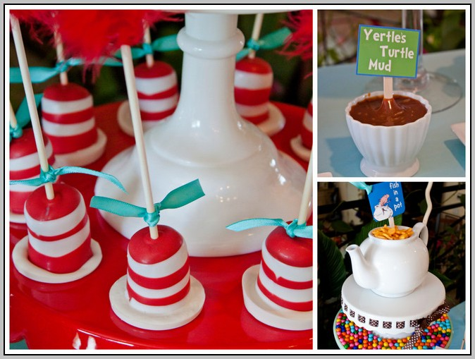 Cat In The Hat Baby Shower Ideas