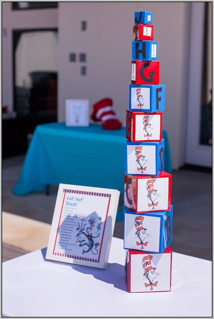 Cat In The Hat Birthday Theme Ideas