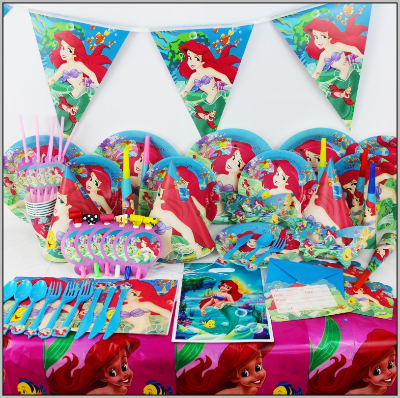 Baby Ariel Party Supplies