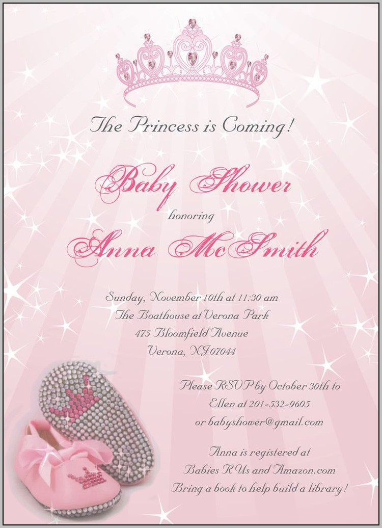 Baby Girl Baby Shower Invitations