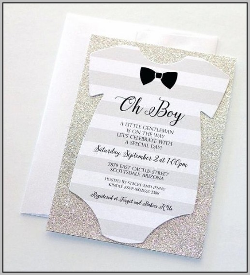Baby Invitations Online