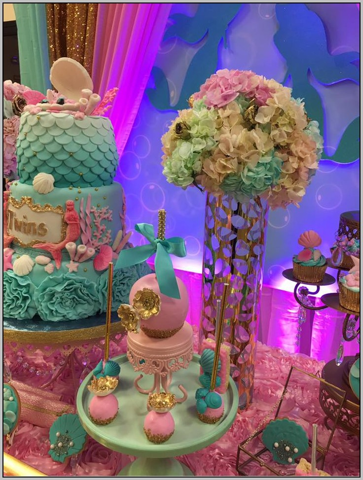Baby Little Mermaid Baby Shower
