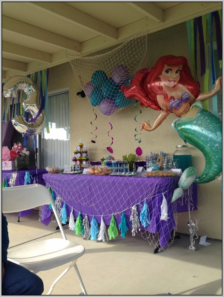 Baby Little Mermaid Birthday