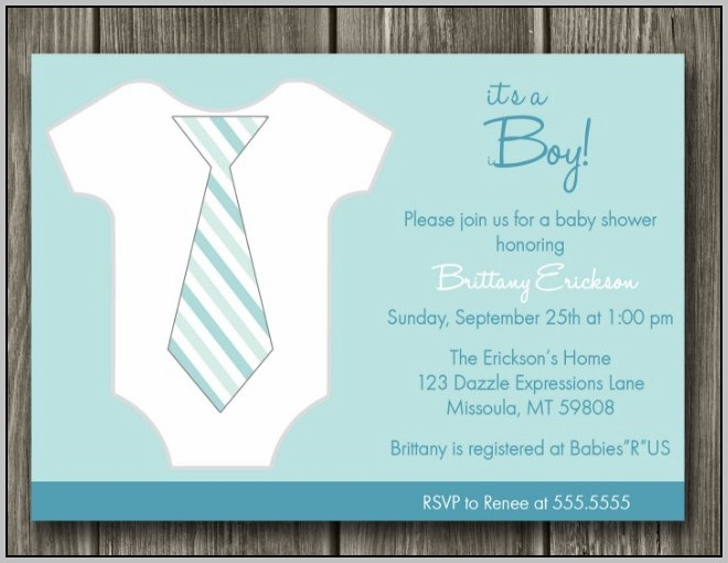 Baby Shower Announcements Free