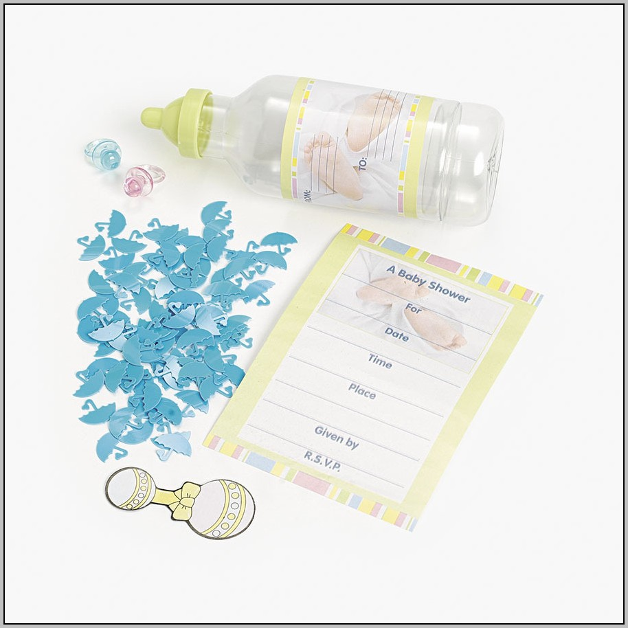 Baby Shower Announcements