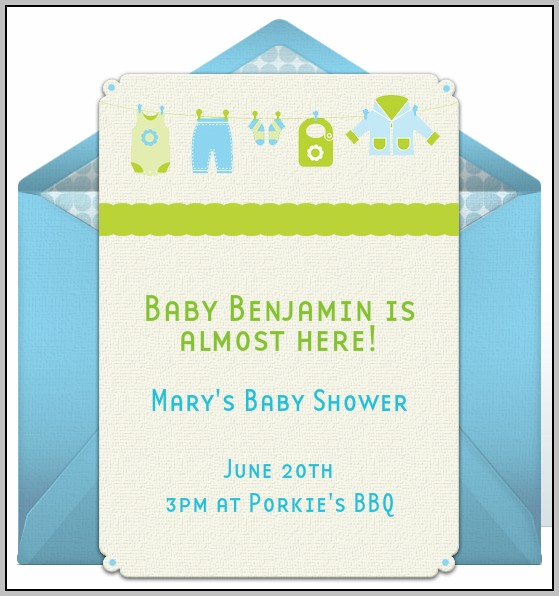 Baby Shower E Invitations