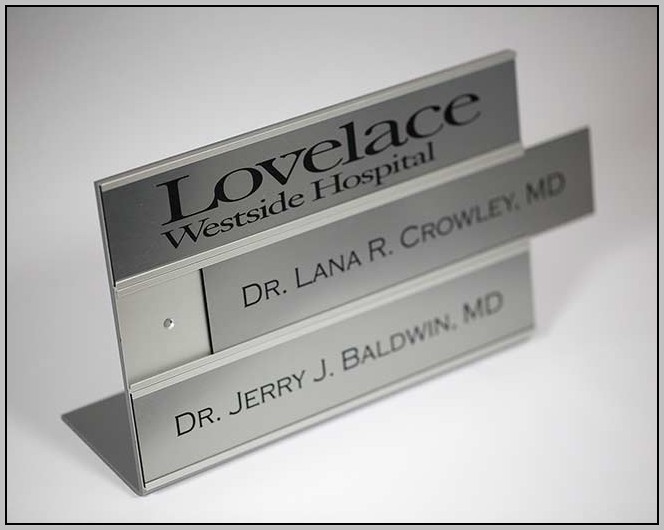 Changeable Office Signs