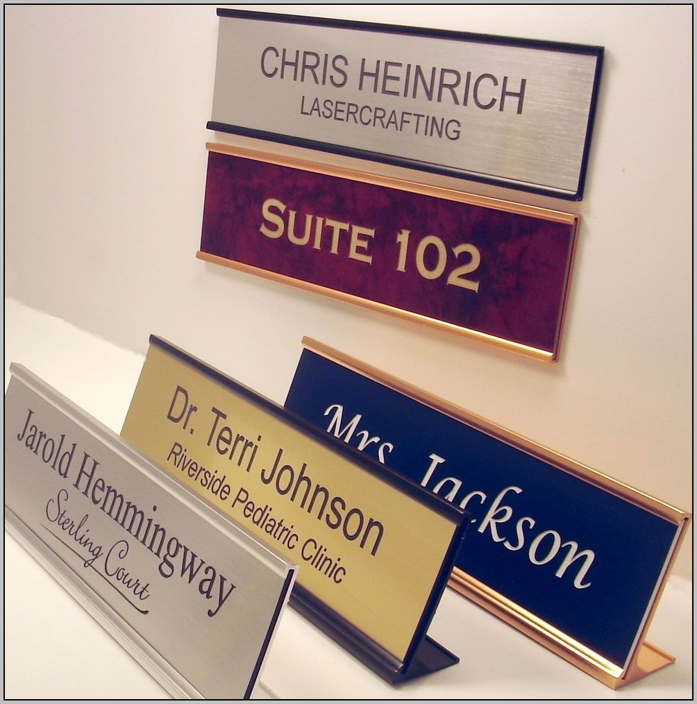 Cheap Office Door Name Plates