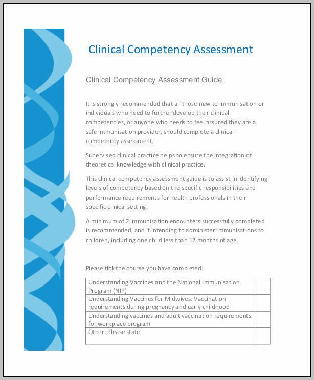 Clinical Assessment Sample