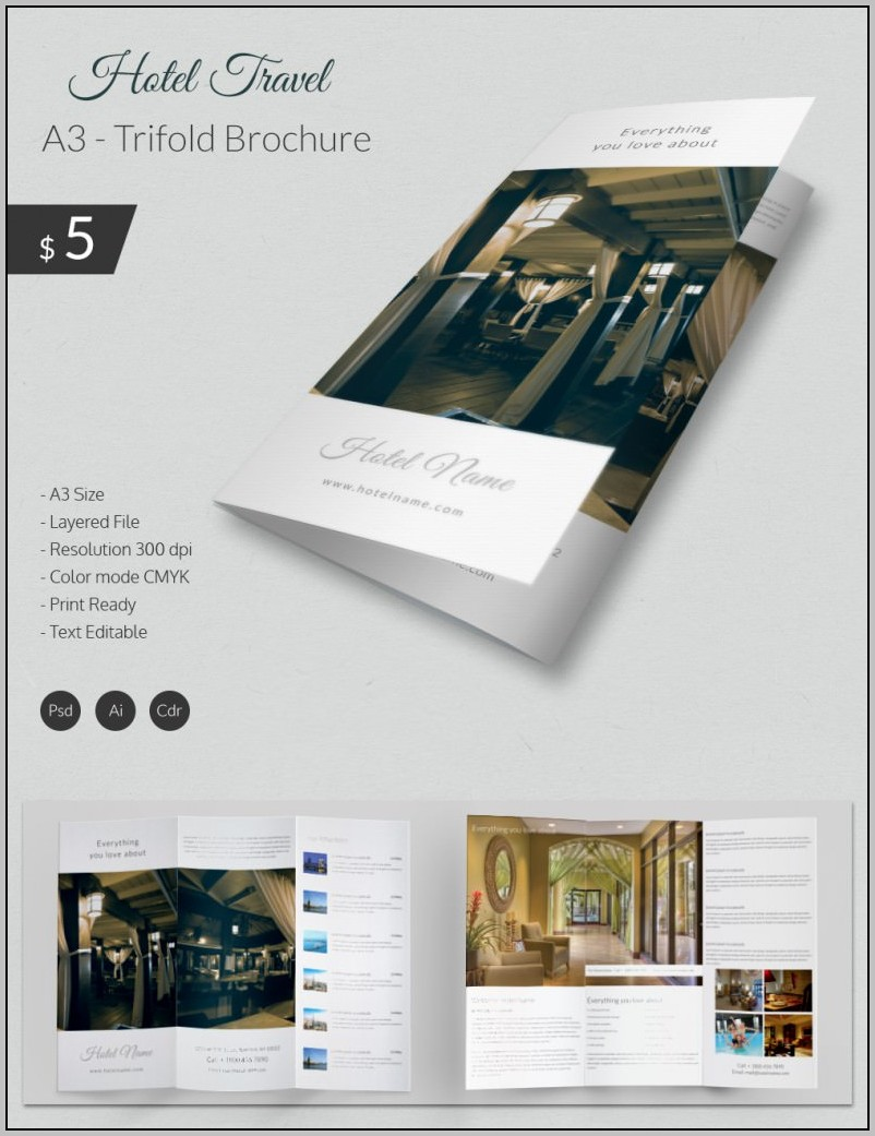 A3 Indesign Template