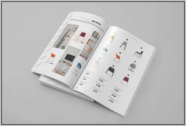 Adobe Indesign Catalog Template
