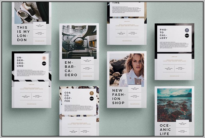 Adobe Indesign Flyer Templates Free