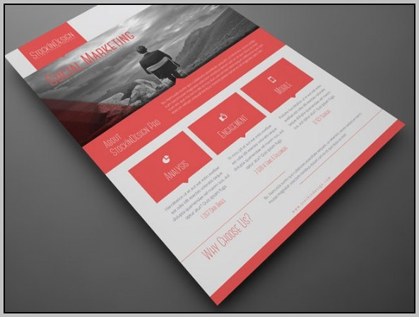 Adobe Indesign Flyer Templates