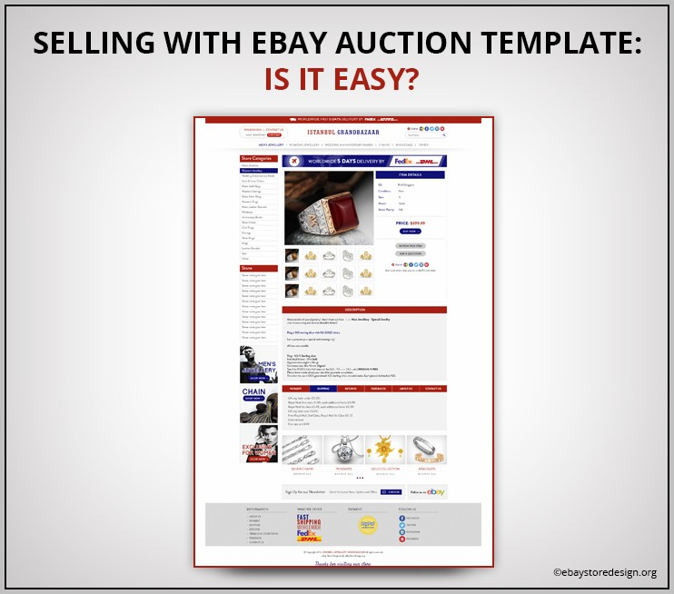 Ebay Auction Template Creator