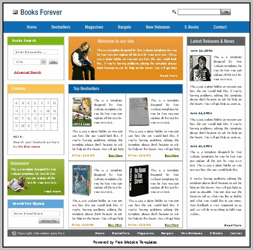 Free Website Templates Compatible With Godaddy