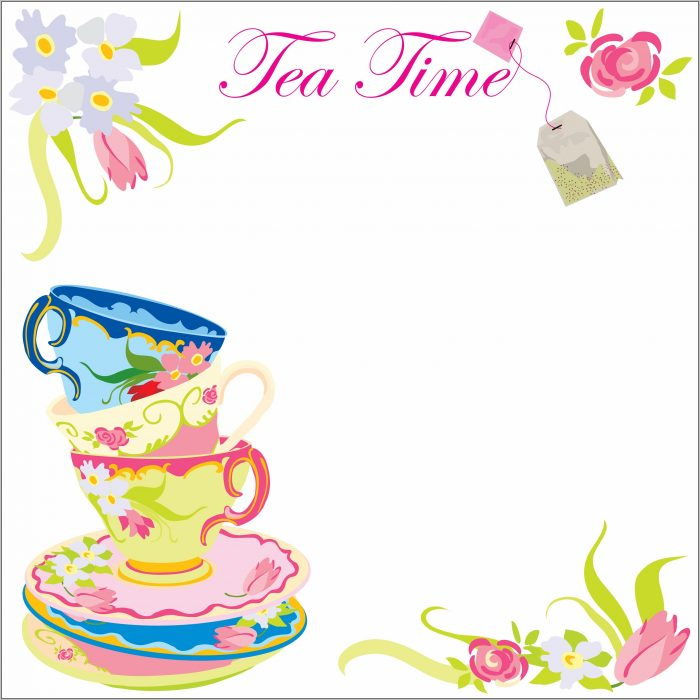 Free Tea Party Invitation Templates