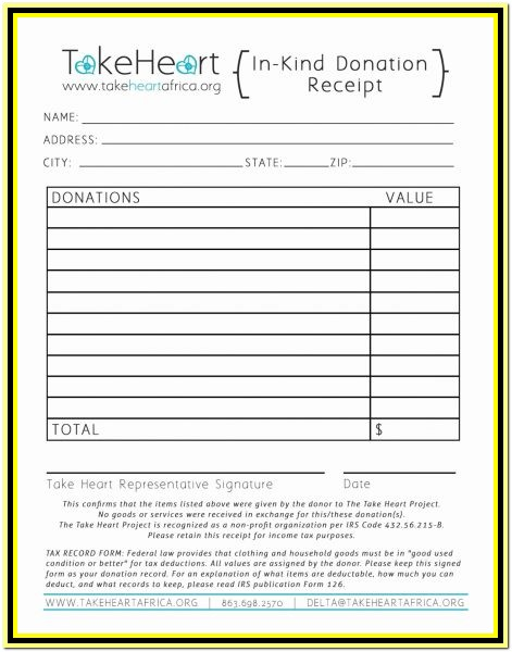Clothing Donation Tax Deduction Worksheet 2018