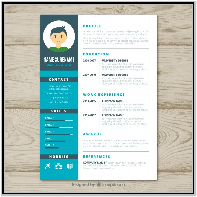 Graphic Designer Resume Sample Word Format Free Download