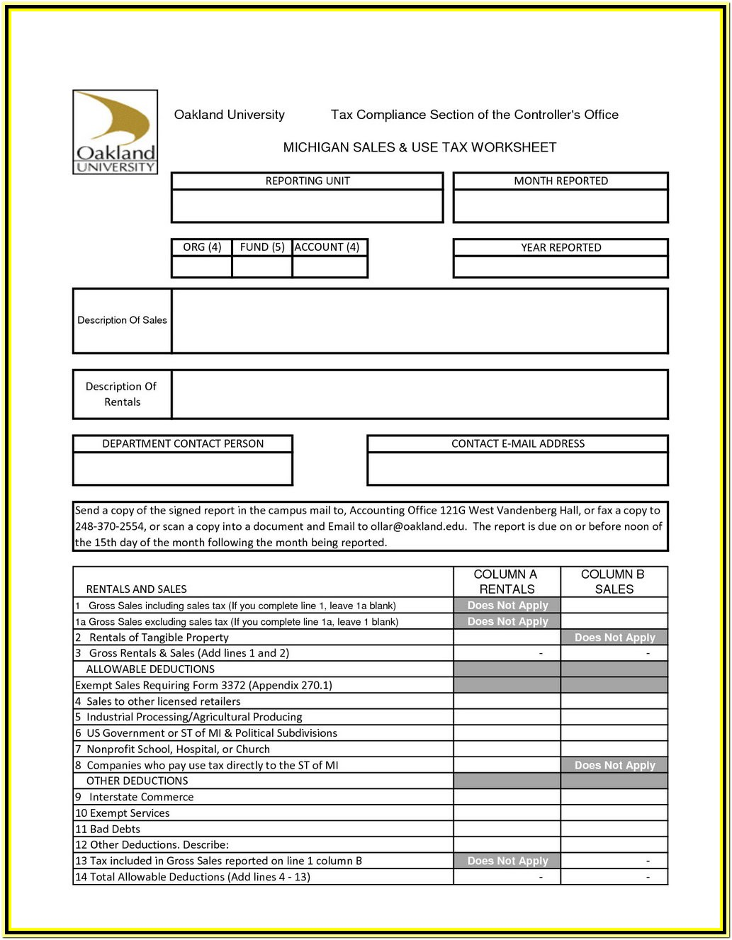 Income Tax Preparation Worksheet 2018