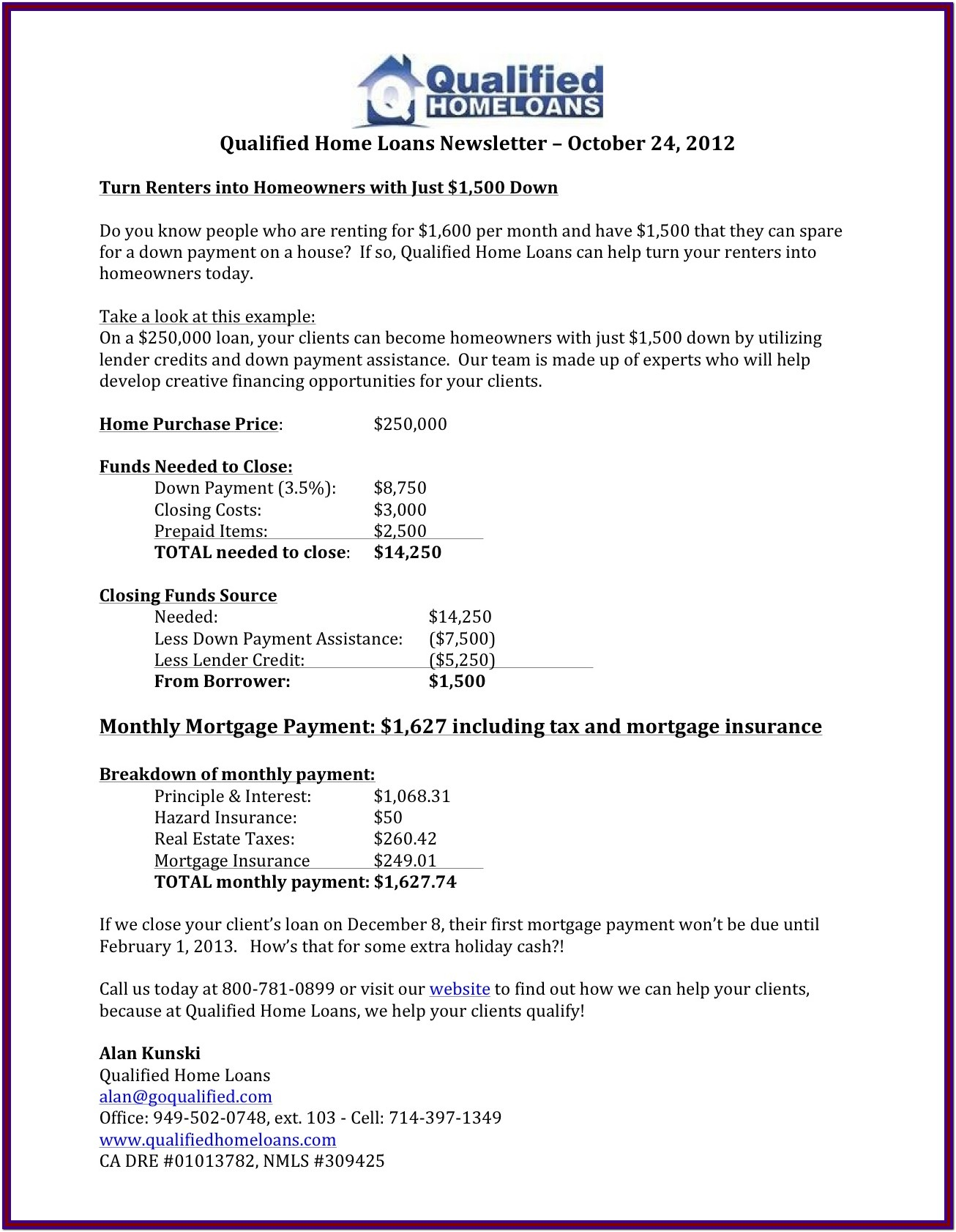 Conventional Mortgage Qualification Worksheet