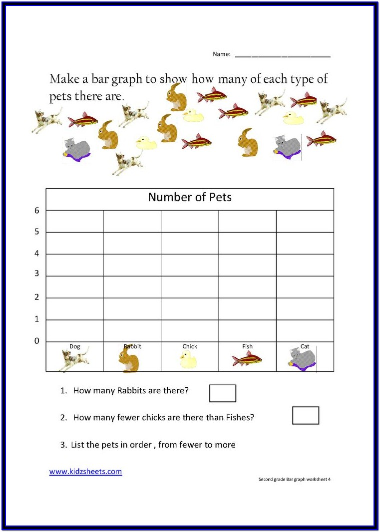 Free Printable Math Worksheets Bar Graphs