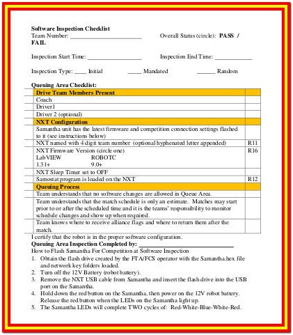 Home Inspection Checklist Software