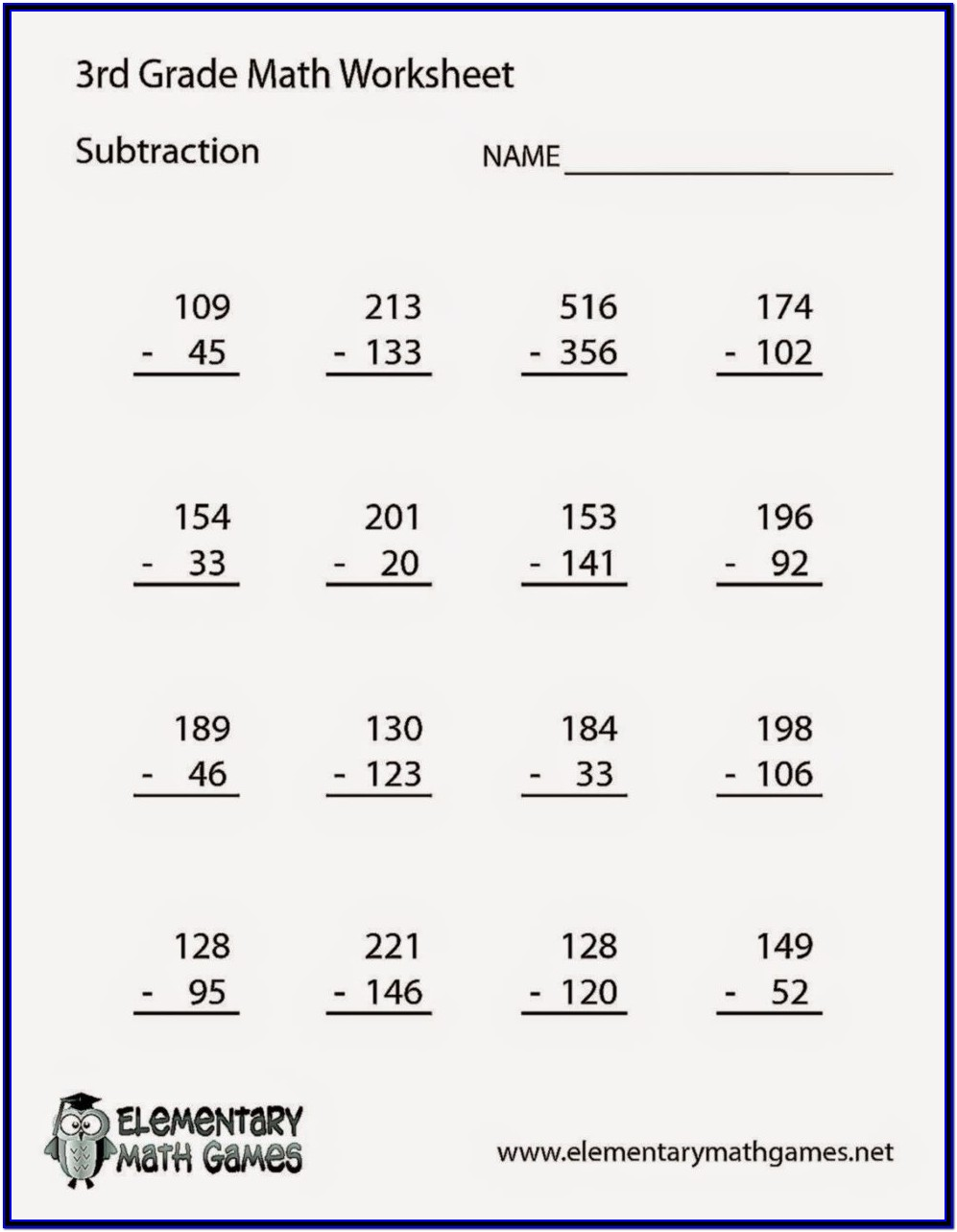 Printable Math Worksheets Grade 5 6