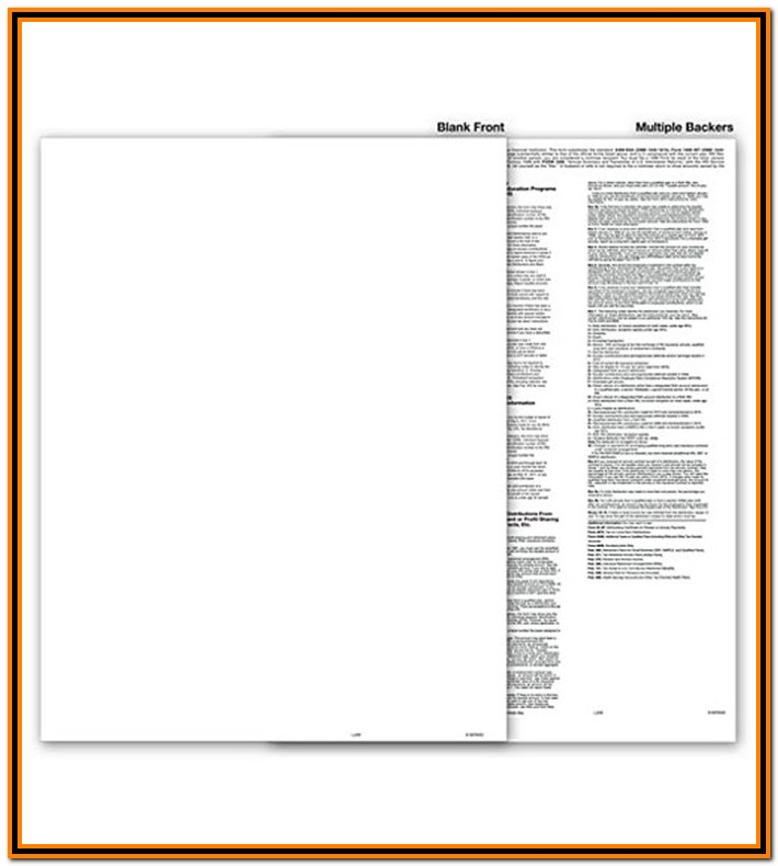 Irs Form 1099 Blank