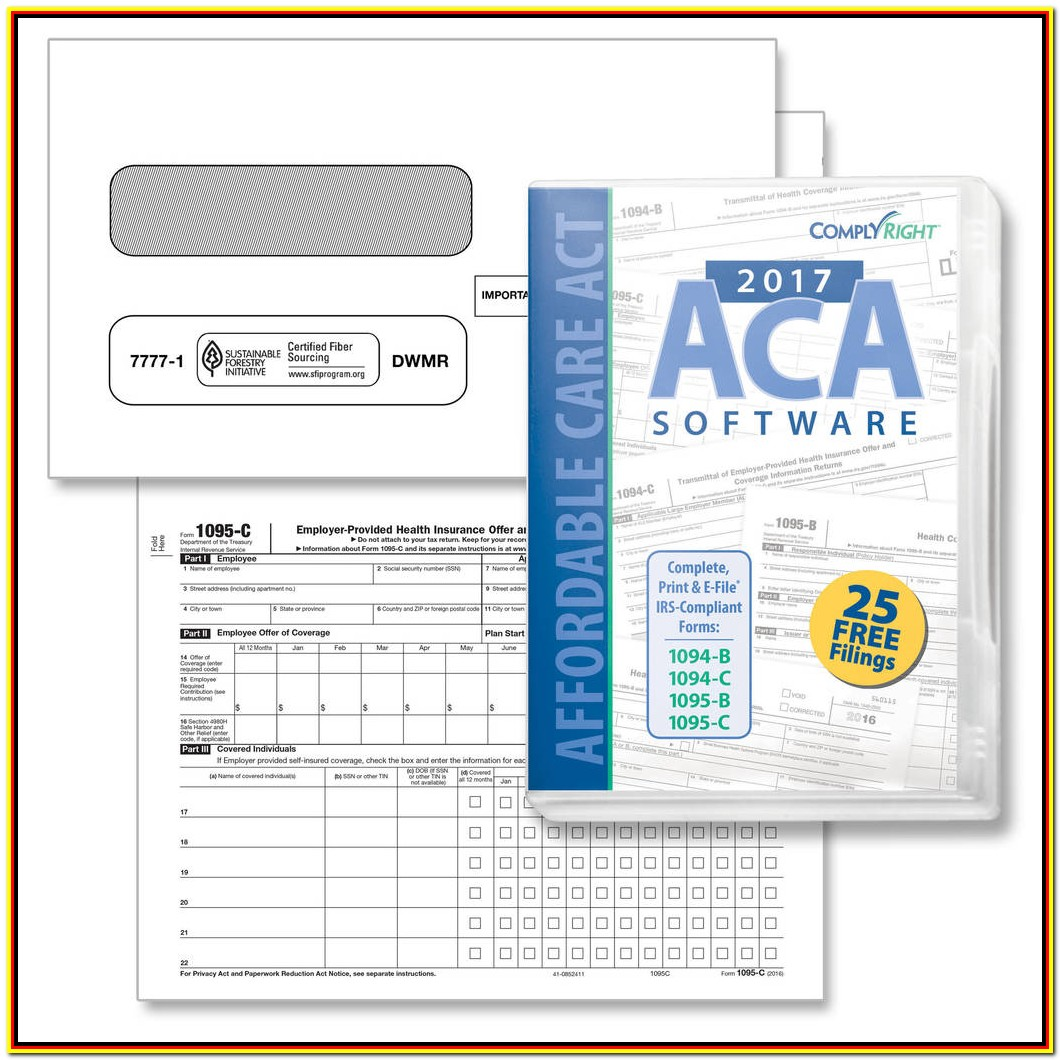 Aca Tax Forms Helper 2017