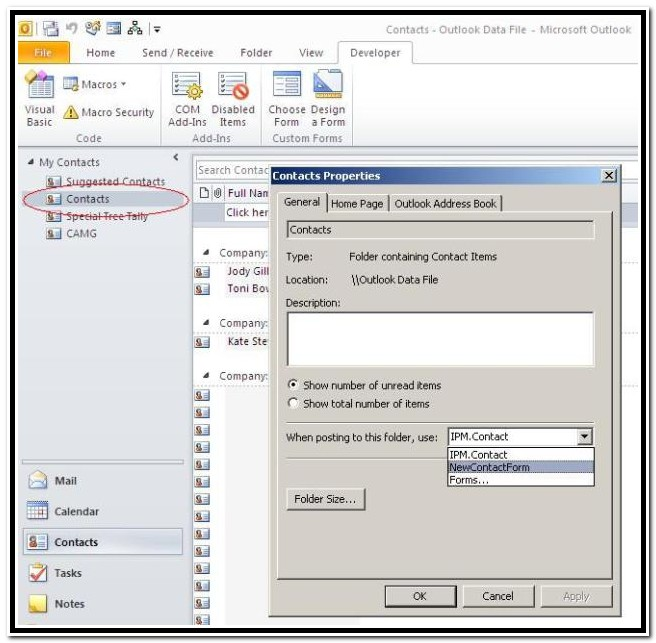 Create A Fillable Form In Outlook 2016