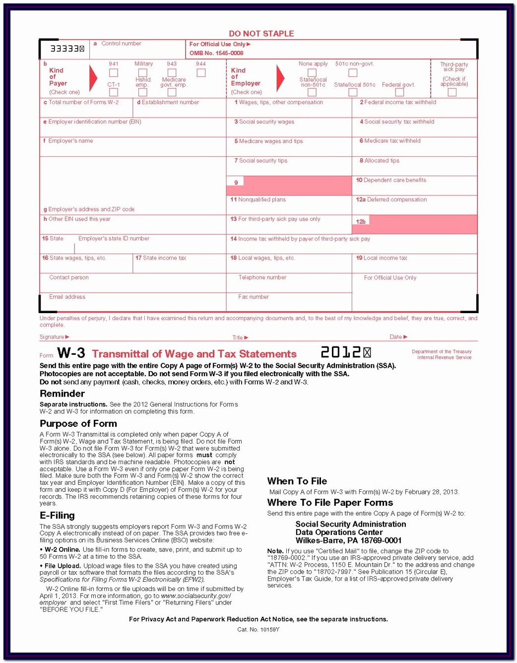 Irs Form 2290 Instructions 2019