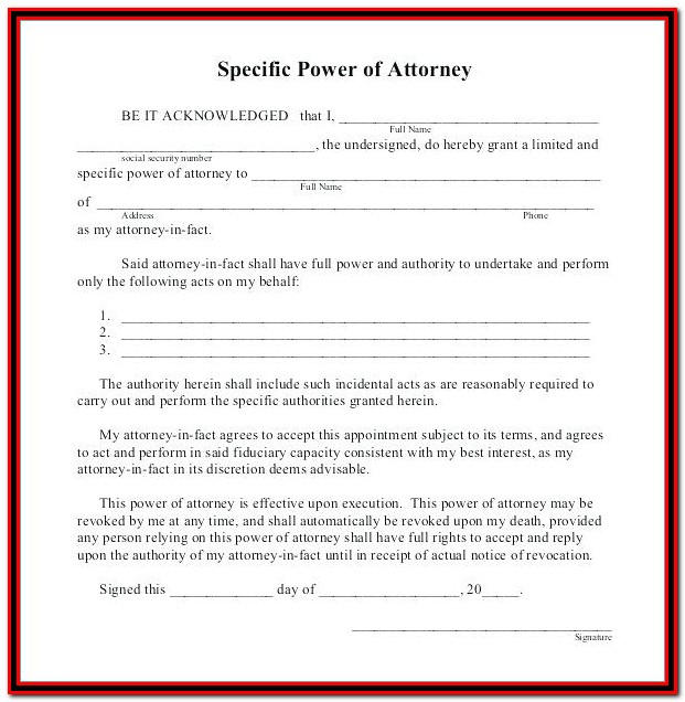 Power Of Attorney Form Pakistan Embassy Uk
