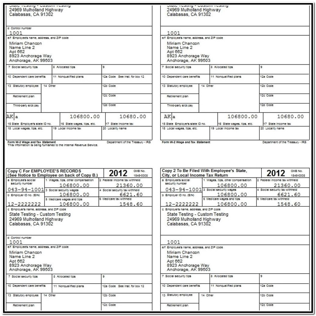 Printable 1099 Form 2018 For Free