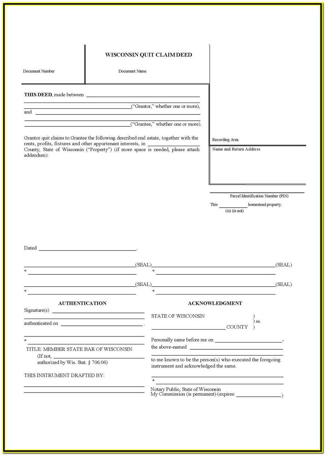 Quit Claim Deed Form Dekalb County Georgia