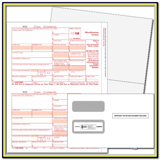 Blank 1099 Form To Print