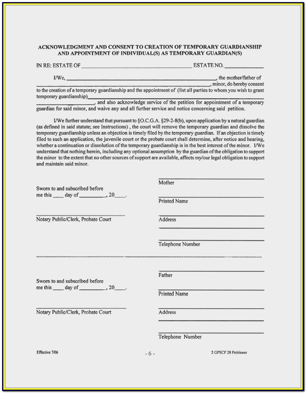 Florida Probate Forms Florida Bar