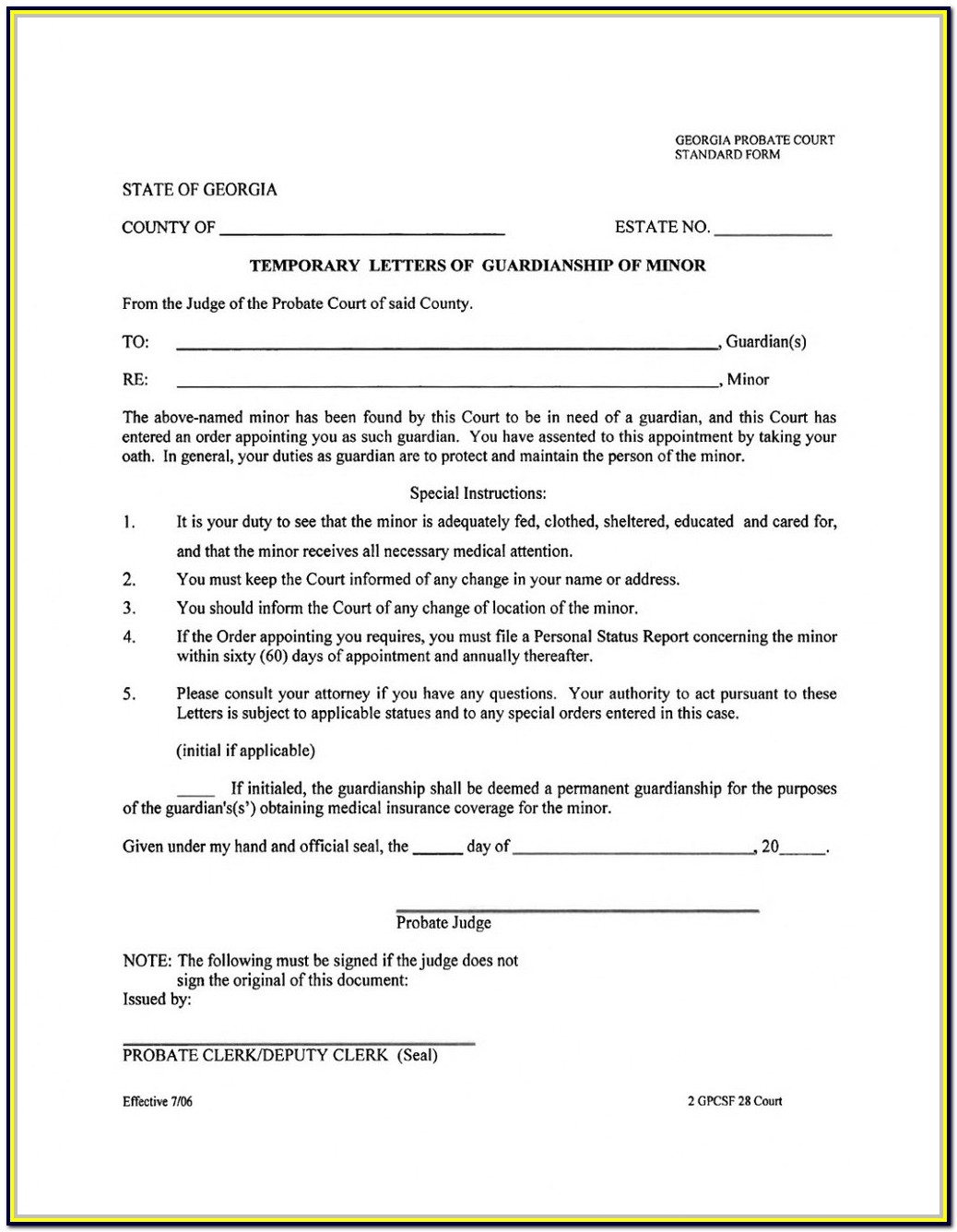 Florida Probate Forms Free