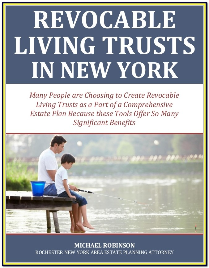 Revocable Living Trust Form New York