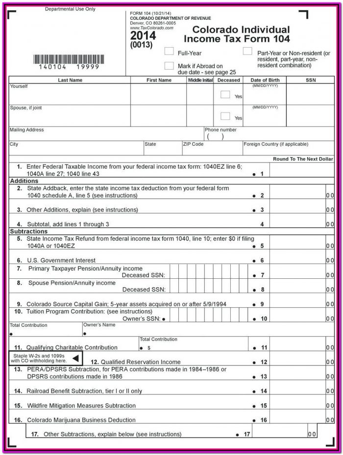 Irs Tax Form 1040a 2016 Instructions