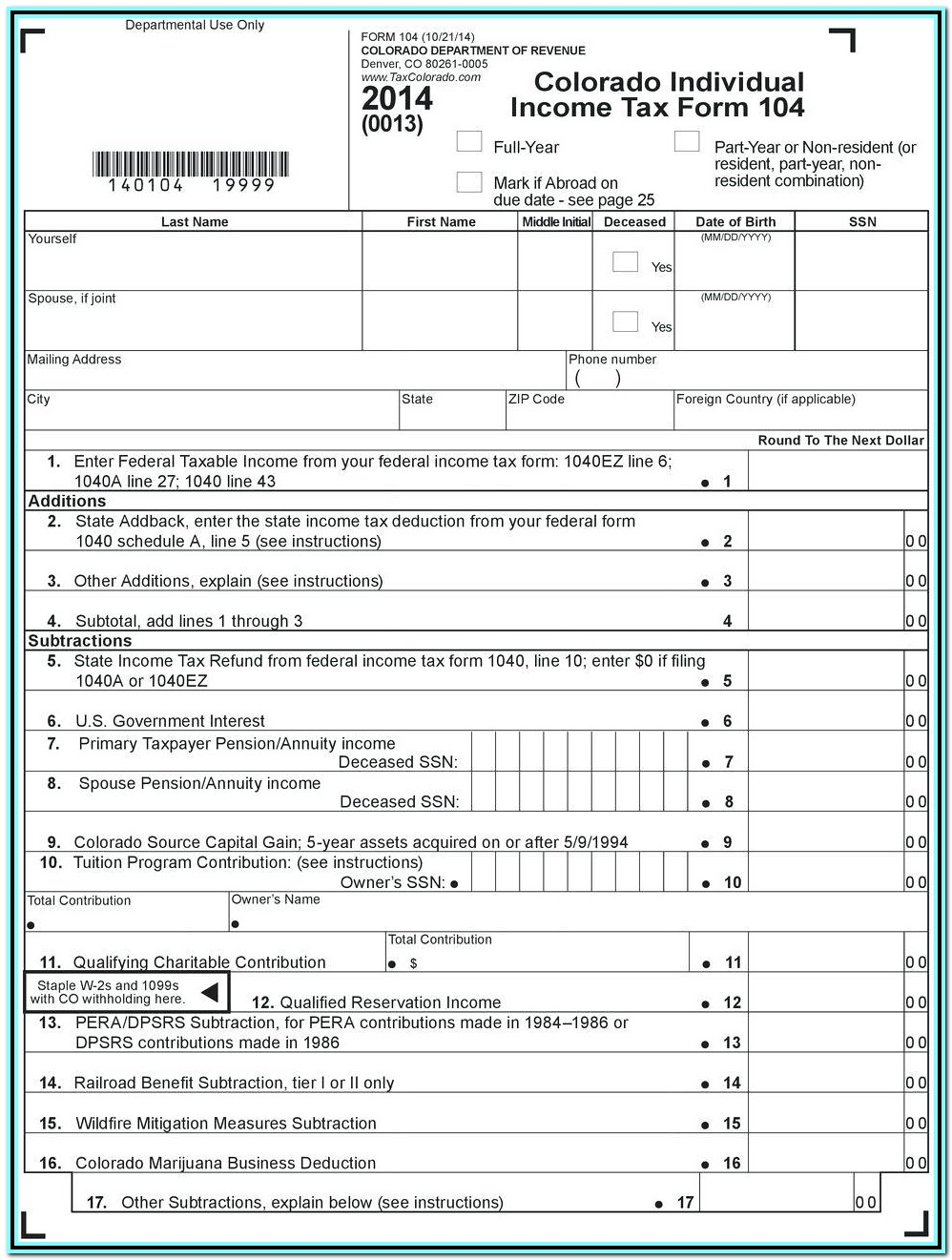 Irs Tax Form 1040ez 2016 Instructions