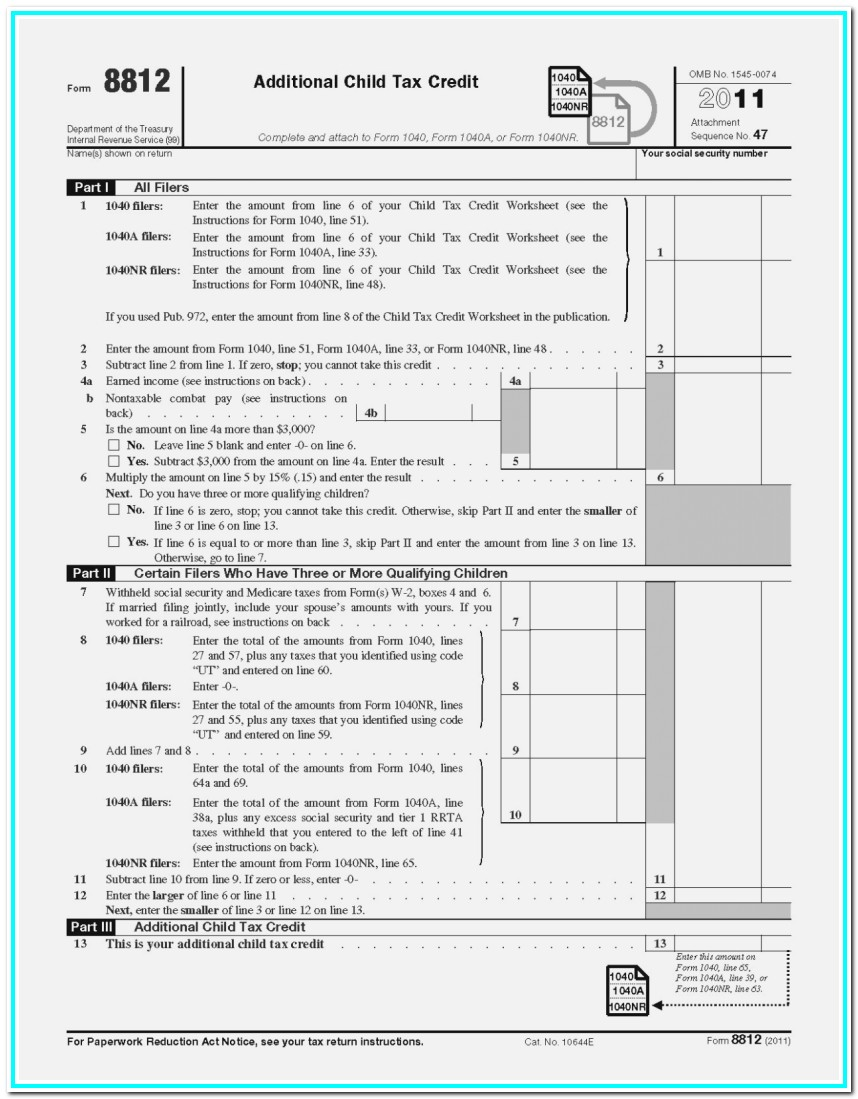1040a Tax Form 2017 Instructions